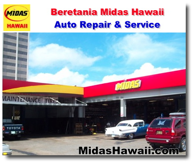 Midas Hawaii - Beretania - Oil Change - Auto Repair & Service